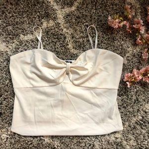 Express White Bodysuit